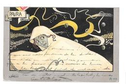 CPA 2 I CAMELLI PAURA / QUITE ART NOUVEAU - Autres Illustrateurs