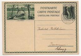 """Schweiz Suisse 1930: Bild-PK CPI """"LOCARNO"""" Mit Stempel """"NIEDERSOMMERI 20.XI.30 (THURGAU)"""" > Nach Immensee SZ - Interi Postali"""