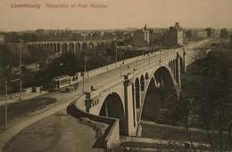 Luxembourg  // Passerelle Et Pont Adolphe - Tram 19?? - Luxemburg - Stad