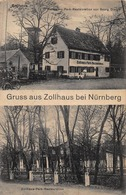 ZOLLHAUS Bei NÜRNBERG-BESITZER GEORG DIETZE-PARK RESTAURATION ~ PHOTO POSTCARD 41512 - Nürnberg