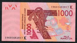 W.A.S. SENEGAL P715Ks 1000 FRANCS (20)19 2019 UNC. - West-Afrikaanse Staten