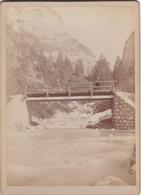 Photo Sur Carton : Format : 18 Cm X  13 Cm. - Le Pont Du Cruz . Vallée  D'Onion - Non Classés