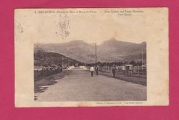 MAURITIUS - ILE MAURICE - PORT LOUIS-  Champ De Mars Et Mont De Du Pouce - Race Course - Mauritius