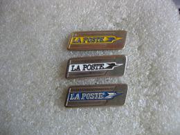 3 Pin's Aux Couleurs Differentes De L'embleme De La Poste - Postes