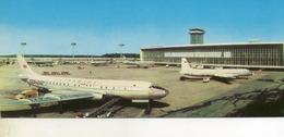 Aeroport De Moscou  DOMODEDOVO...  Carte  Longue.... - Aerodromes