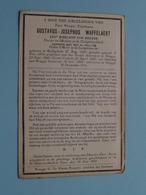 DP Z.H.E. Gustavos WAFFELAERT ( XXIIe Bisschop Van Brugge ) Rolleghem 27 Aug 1847 - Brugge 18 Dec 1931 ( Voir Photo ) ! - Décès