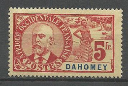 DAHOMEY N° 32 NEUF* LEGERE TRACE DE CHARNIERE / MH - Unused Stamps