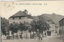 Jura, Salins Les Bains : Place De L'Ange - France