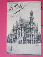 Belgique - Audenarde - Hôtel De Ville - CPA 1911 - Scans Recto Verso - Oudenaarde