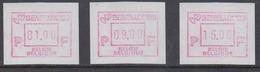 Belgium 1989 Frama Labels Benelux '89 3v ** Mnh (44473) - Europese Gedachte