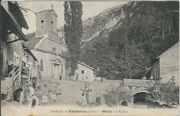 JURA, Gizia : L'Eglise - France