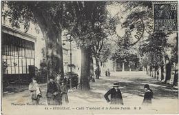24  Bergerac Cafetortoni  Et Le Jardin Public - Bergerac