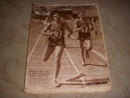 MIROIR Des SPORTS 645 05.08.1957 ATHLETISME JAZY TOUR De FRANCE RECIT ANQUETIL - Sport