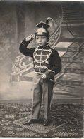 ARMEE BELGE - PHOTO CARTE    - COMME  PAPA EN   LANCIER - Regimenten