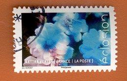 France 2019 - Oblitéré Used - Scanné Recto Verso - Y&T N° AA ?? - éclosion - Lettre Verte - Oblitérés