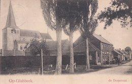 Opglabbeek Op-Glabbeek De Dorpstraat (envoié à Le Curé De Bierset ) - Opglabbeek