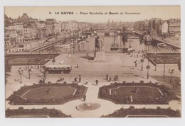 AJ11 Le Havre, Place Gambetta Et Bassin Du Commerce - Animated, Bus - Le Havre