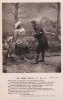 AO17 Bamforth Song Card - My Irish Molly, No. 2 - Postcards
