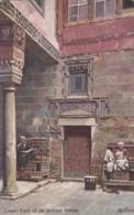 AO17 Egypt - Court Yard Of An Arabian House - Artist Signed - Other
