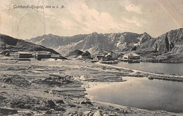 GOTTHARD HOSPIZ SWITZERLAND~-E GOETZ PHOTO 1909 PSTMK POSTCARD 41515 - Switzerland