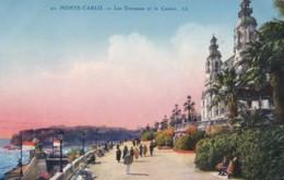 AP72 Monte Carlo, Les Terrasses Et Le Casino - LL - Monte-Carlo