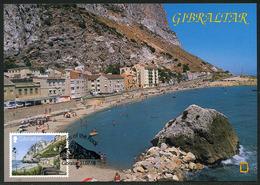 GIBRALTAR (2018). Carte Maximum Card - Catalan Bay - Sepac - Views Of The Rock - Gibraltar