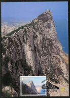 GIBRALTAR (2018). Carte Maximum Card - The Rock And The Straits Of Gibraltar - Views Of The Rock - Gibraltar