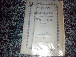 Document Scolaire Notes  D'un èlève Du Pensionat De La Présentation Notre Dame à Castres Année 1967 - Diplômes & Bulletins Scolaires