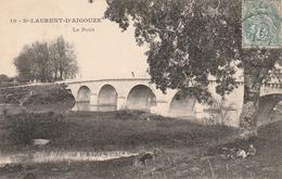 30/ Saint Laurent D'AIGOUZE - Le Pont - Edition Durand N° 10 - Sonstige Gemeinden