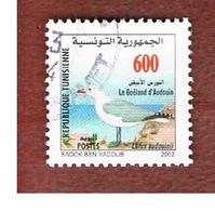 TUNISIA - SG 1505 -    2002 BIRDS: LARUS AUDOUINII  - USED ° - Tunisia (1956-...)