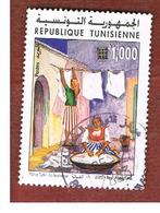 TUNISIA - MI 1556 -    2003 Y. TURKI: PAINTING - USED ° - Tunisia (1956-...)