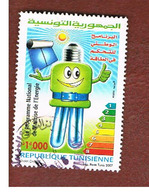 TUNISIA - MI 1668  -    2007 NATIONAL ENERGY SAVING PROGRAM - USED ° - Tunisia (1956-...)