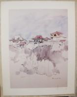 Ile De La Réunion. Francois HENNEQUET 1981 Les Cases -Espace. La Maison Sur Rue Lucien Gasparin N° 17 - Autres Collections