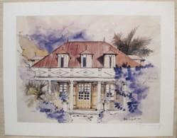 Ile De La Réunion. Francois HENNEQUET 1981 Les Cases -Espace. La Maison Saint Pierre N° 10 - Autres Collections