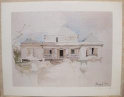 Ile De La Réunion. Francois HENNEQUET 1981 Les Cases -Espace. La Maison Rue Jules Auber à St Denis N° 6 - Autres Collections
