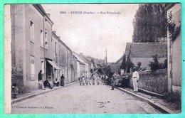 1304 - AVOISE - RUE PRINCIPALE - Otros Municipios