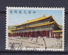 Taiwan 1970 Mi. 768    1.00 ($) Wiederaufbau Des Grabmals Opfer Der Revolte In Kanton Von 23.9.1911 Schrein Der Märtyrer - Gebraucht