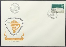 Portugal - FDC 1958 Tropical Medicine & Malaria Congress - FDC