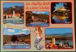 Ak Österreich - Wachau - Dürnstein - St. Michael - Stift Melk - Spitz - Krems - Melk