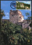 GIBRALTAR (2017). Carte Maximum Card - Moorish Castle, Castillo, Chateau - Upper Rock Nature Reserve - Gibraltar