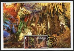 GIBRALTAR (2017). Carte Maximum Card - St Michael's Cave, Cueva, Höhle, Grotte - Upper Rock Nature Reserve - Gibraltar