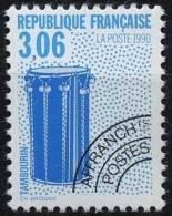 N° 208  Année 1990, Les Instruments De Musique, Valeur Faciale 3,06 F - 1989-....