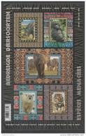 BELGIUM, 2016, MNH, ENDANGERED SPECIES, ELEPHANTS, POLAR BEARS, RHINOS, TIGERS, GORILLAS, SHEETLET - Big Cats (cats Of Prey)