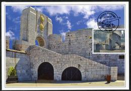 GIBRALTAR (2017). Carte Maximum Card - American War Memorial, World War I - Military Heritage - Gibraltar