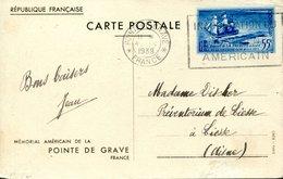 FRANCE - Entiers à Type Spéciaux - Y&T CP12 - Mémorial De La Pointe De Grave (20% De La Cote) - Postal Stamped Stationery