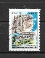 France 2019 Oblitéré  N° 5334   Abbatiale - Saint Philibert De Grand Lieu  ( Loire - Atlantique ) - Oblitérés