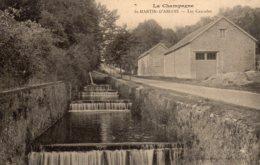 CPA   51   ST-MARTIN-D'ABLOIS---LES CASCADES. - Autres Communes