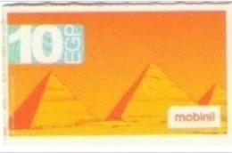 EGYPT Pyramids - MobiNil Prepaid Card 10 L.E, [USED] (Egypte) (Egitto) (Ägypten) (Egipto) (Egypten) - Egypte