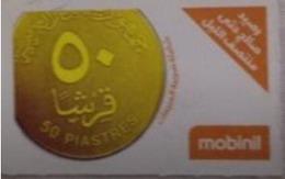 EGYPT - MobiNil Prepaid Card 50 Piasters, [USED] (Egypte) (Egitto) (Ägypten) (Egipto) (Egypten) - Egypte