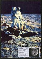 GIBRALTAR (2019). Carte Maximum Card - ATM Post & Go - 50th Anniversary APOLLO 11 XI Moon Landing 1969, Lune, Luna, Step - Gibraltar